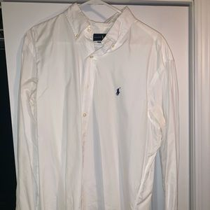 Ralph Lauren Classic Shirt white